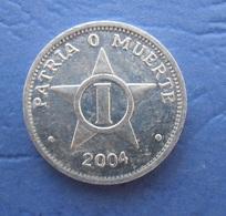CUBA 1 CENTAVO 2004 AUNC - Cuba