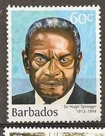 Barbados Sir Hugh Springer Obl - Barbados (1966-...)