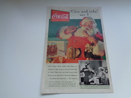 "Origineel Knipsel ( 2455 ) Uit Tijdschrift "" Geographic Magazine "" 19?? Sancta Claus  Père Noël  Kerstman Shirley Temple - Poster & Plakate"