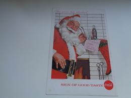 "Origineel Knipsel ( 2456 ) Uit Tijdschrift "" Geographic Magazine "" 1957 : Sancta Claus  Père Noël  Kerstman 25 X 17 Cm. - Afiches Publicitarios"