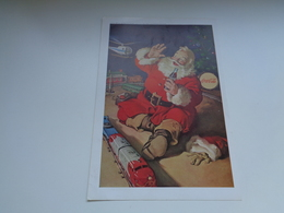 "Origineel Knipsel ( 2457 ) Uit Tijdschrift "" Geographic Magazine "" 1962 : Sancta Claus  Père Noël  Kerstman 25 X 17 Cm. - Afiches Publicitarios"