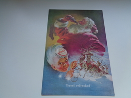 "Origineel Knipsel ( 2458 ) Uit Tijdschrift "" Geographic Magazine "" 1949 : Sancta Claus  Père Noël  Kerstman 25 X 17 Cm. - Afiches Publicitarios"