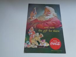 "Origineel Knipsel ( 2460 ) Uit Tijdschrift "" Geographic Magazine "" 1952 : Sancta Claus  Père Noël  Kerstman 25 X 17 Cm. - Afiches Publicitarios"