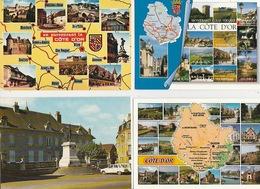 20 / 5 / 412. -  LA  CÔTE  D' OR (. 21 )  LOT  DE 12. CPM - Cartes Postales