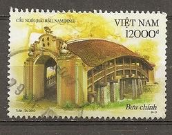 Vietnam 2012 Antique Bridge Obl - Vietnam