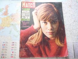 Paris Match N°717 5 Janvier 1963 Le Spectacle De B.B. En Couleurs / Moscou : Greffe Du Coeur / Françoise Hardy - Testi Generali