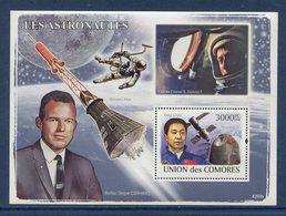 Union Des Comores - Bloc - Les Astronautes - Neuf Sans Charnière - 2008 - Komoren (1975-...)