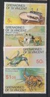 Grenadines - 1977 - N°Yv. 101 à 104 - Crustacés - Neuf Luxe ** / MNH / Postfrisch - St.Vincent Y Las Granadinas