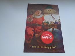 "Origineel Knipsel ( 2462 ) Uit Tijdschrift "" Geographic Magazine "" 1951 : Sancta Claus  Père Noël  Kerstman 25 X 17 Cm. - Poster & Plakate"