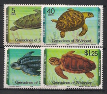 Grenadines - 1978 - N°Yv. 146 à 149 - Tortues / Turtles - Neuf Luxe ** / MNH / Postfrisch - St.Vincent Y Las Granadinas