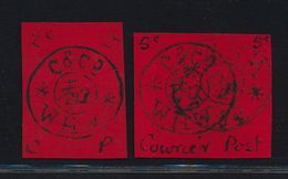 ***REPLICA*** Of 1898 Chinese Local Posts - Wei Hai Wei - Both 2c And 5c - Cina