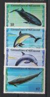 Grenadines - 1980 - N°Yv. 175 à 178 - Mammifères Marins - Neuf Luxe ** / MNH / Postfrisch - Balene