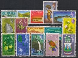 St Vincent - 1965-68 - N°Yv. 207 à 221 - Série Complète - Neuf Luxe ** / MNH / Postfrisch - St.Vincent (1979-...)