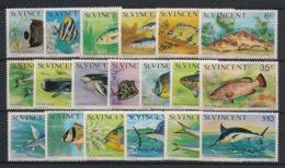 St Vincent - 1975 - N°Yv. 386 à 404 - Série Complète - Neuf Luxe ** / MNH / Postfrisch - St.Vincent (1979-...)