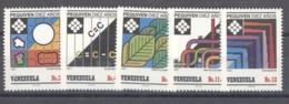 Venezuela  -  1987  :  Yv  1364-68  ** - Venezuela