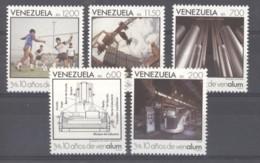 Venezuela  -  1988  :  Yv  1388-92  ** - Venezuela