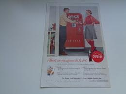 """Origineel Knipsel ( 2465 ) Uit Tijdschrift """" Geographic Magazine """" 1955 :  Papier Légère Cartonné  25 X 17 Cm. - Afiches Publicitarios"""