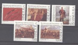 Venezuela  -  1988  :  Yv  1408-12  ** - Venezuela