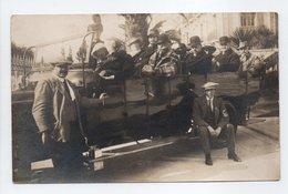 - CPA PHOTO - Groupe De Personnes En BUS - A IDENTIFIER - - Photographs