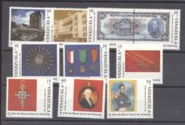 Venezuela  -  1990  :  Yv  1490-99  ** - Venezuela