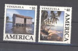 Venezuela  -  1990  :  Yv  1510-11  ** - Venezuela
