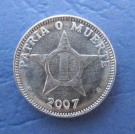CUBA 1 CENTAVO 2007 AUNC - Cuba