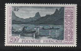 POLYNESIE - PA N°4 ** (1958) - Poste Aérienne
