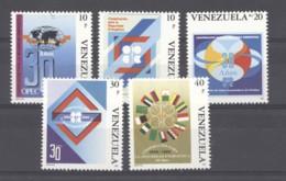 Venezuela  -  1990  :  Yv  1512-16  ** - Venezuela