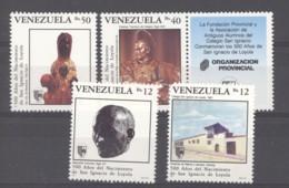 Venezuela  -  1991  :  Yv  1517-20  ** - Venezuela