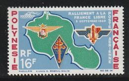 POLYNESIE - PA N°8 ** (1964) - Poste Aérienne