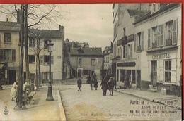 PARIS XVIII°° -Montmartre Place Du Tertre - Cremerie -Tabac Animée- D'André PERLET Philocartiste à Un Autre En GRECE - Distretto: 18