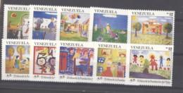 Venezuela  -  1991  :  Yv  1542-51  ** - Venezuela
