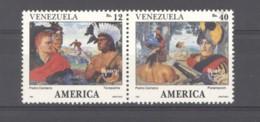 Venezuela  -  1991  :  Yv  1540-41  ** - Venezuela