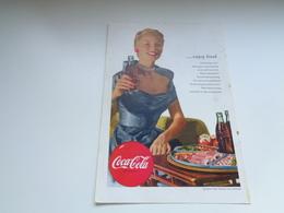 """Origineel Knipsel ( 2476 ) Uit Tijdschrift """" Geographic Magazine """" 1952 :   Papier Légère Cartonné 25 X 17 Cm. - Afiches Publicitarios"""