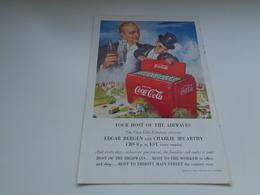 """Origineel Knipsel ( 2479 ) Uit Tijdschrift """" Geographic Magazine """" 1950 :   Papier Légère Cartonné 25 X 17 Cm. - Afiches Publicitarios"""