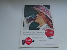 """Origineel Knipsel ( 2483 ) Uit Tijdschrift """" Geographic Magazine """" 1949 :   Papier Légère Cartonné 25 X 17 Cm. - Afiches Publicitarios"""