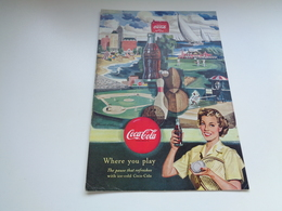 """Origineel Knipsel ( 2484 ) Uit Tijdschrift """" Geographic Magazine """" 1950 :   Papier Légère Cartonné 25 X 17 Cm. - Afiches Publicitarios"""