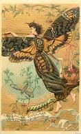 CHROMOS GAUFRE - CHOCOLAT POULAIN - ATROPOS ACHERONTIA - Old Paper