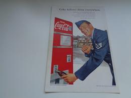 """Origineel Knipsel ( 2485 ) Uit Tijdschrift """" Geographic Magazine """" 1952 :   Papier Légère Cartonné 25 X 17 Cm. - Afiches Publicitarios"""