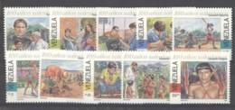 Venezuela  -  1995  :  Yv  1721-30  ** - Venezuela