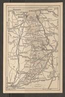 CARTE PLAN 1930 - BRETAGNE - CIRCUIT SAINT LUNAIRE PLEURTUIT DINAN St MALO St SERVAN - Topographical Maps