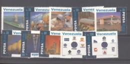Venezuela  -  1995  :  Yv  1815-24  ** - Venezuela