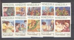 Venezuela  -  1996  :  Yv  1858-67  ** - Venezuela