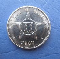 CUBA 20 CENTAVOS 2009 AUNC - Cuba