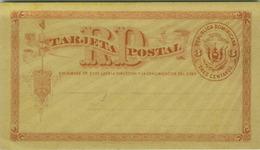 REPUBLICA DOMINICANA  - POSTAL STATIONERY 3 CENTAVOS - 1900s  (BG8288) - República Dominicana