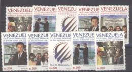 Venezuela  -  1997  :  Yv  1971A-K  ** - Venezuela