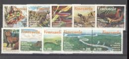 Venezuela  -  1998  :  Yv  2123-32  ** - Venezuela