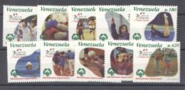 Venezuela  -  1998  :  Yv  2133-42  ** - Venezuela