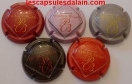 5 BELLES CAPSULES CHAMPAGNE PATRICK BIGAR LOGO REF N° 5 A 5d NEWS - Champagnerdeckel