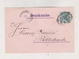 AUSTRIA 1903  GRAZ  J.K. KLAMMERTH Firm  Postcard - Covers & Documents